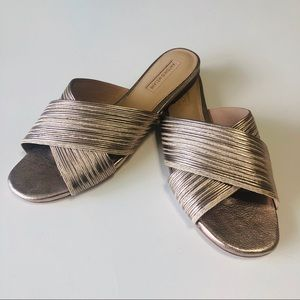 NWT Antonio Melani Florentina slip on sandals